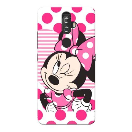 Minnie Mouse Lenovo K8 Plus Mobile Cover