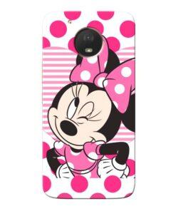 Minnie Mouse Moto E4 Plus Mobile Cover