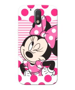 Minnie Mouse Moto G4 Mobile Cover