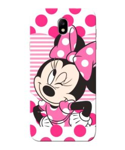 Minnie Mouse Samsung Galaxy J7 Pro Mobile Cover