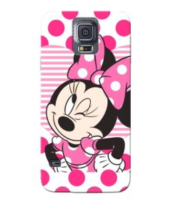 Minnie Mouse Samsung Galaxy S5 Mobile Cover