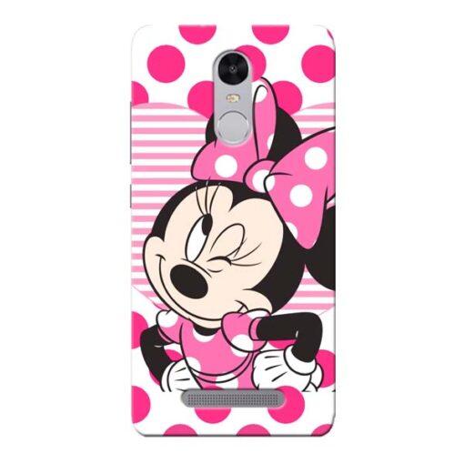 Minnie Mouse Xiaomi Redmi Note 3 Mobile Cover