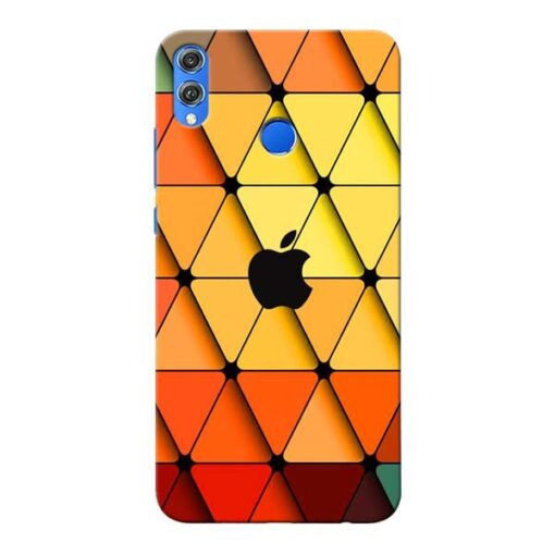 Neon Apple Honor 8X Mobile Cover