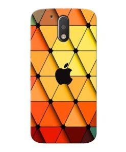 Neon Apple Moto G4 Mobile Cover