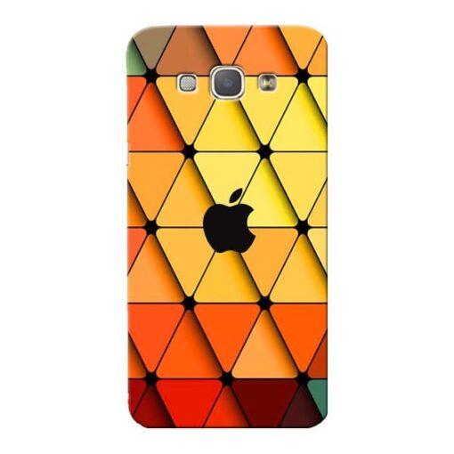 Neon Apple Samsung Galaxy A8 2015 Mobile Cover