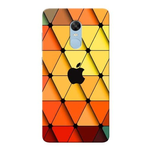 Neon Apple Xiaomi Redmi Note 4 Mobile Cover