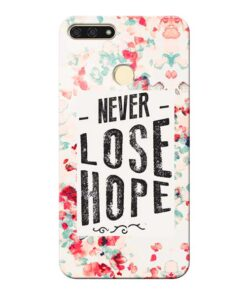 Never Lose Honor 7A Mobile Cover