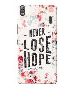 Never Lose Lenovo K3 Note Mobile Cover