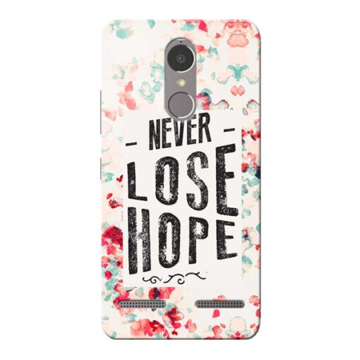 Never Lose Lenovo K6 Power Mobile Cover
