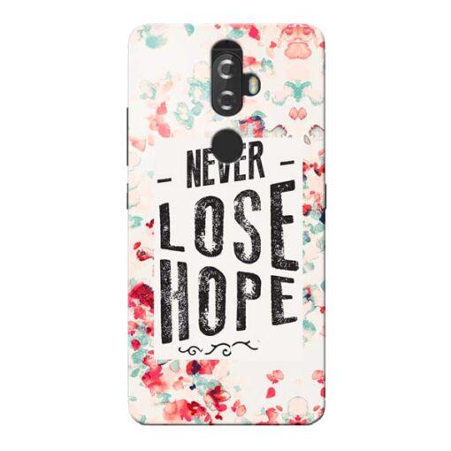 Never Lose Lenovo K8 Plus Mobile Cover