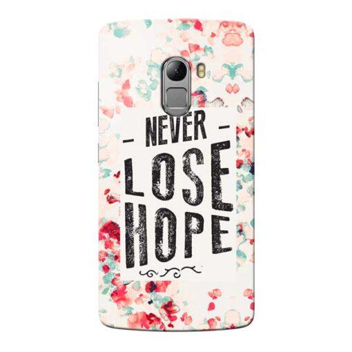 Never Lose Lenovo Vibe K4 Note Mobile Cover