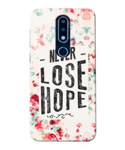 Never Lose Nokia 6.1 Plus Mobile Cover