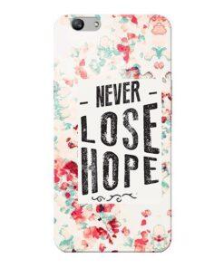 Never Lose Oppo F1s Mobile Cover