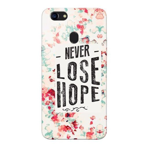 Never Lose Oppo F5 Mobile Cover