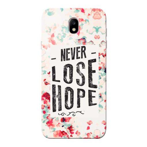 Never Lose Samsung Galaxy J7 Pro Mobile Cover