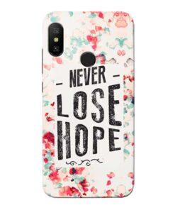 Never Lose Xiaomi Redmi 6 Pro Mobile Cover
