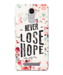 Never Lose Xiaomi Redmi Note 3 Mobile Cover