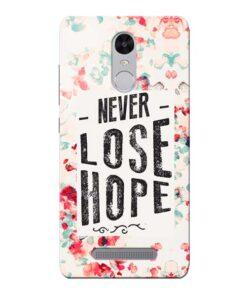 Never Lose Xiaomi Redmi Note 3 Mobile Cover