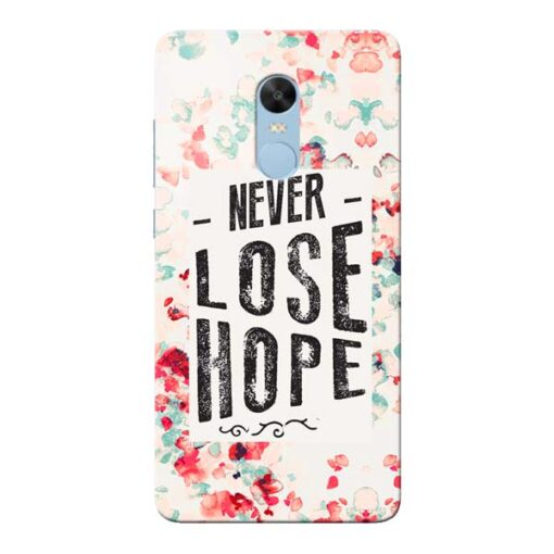 Never Lose Xiaomi Redmi Note 4 Mobile Cover