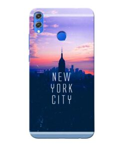 New York City Honor 8X Mobile Cover