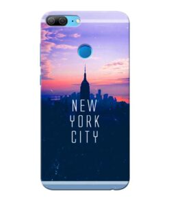 New York City Honor 9 Lite Mobile Cover