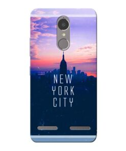 New York City Lenovo K6 Power Mobile Cover