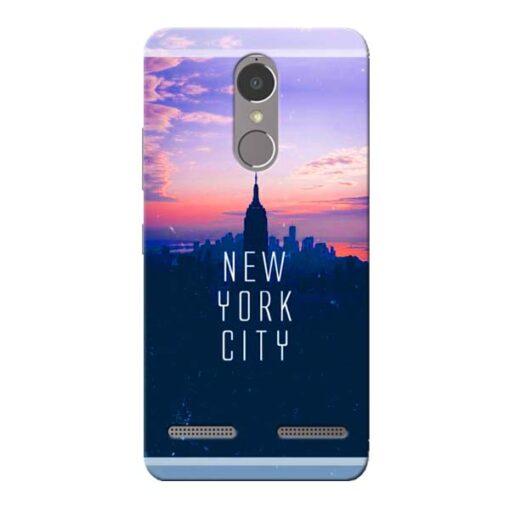 New York City Lenovo K6 Power Mobile Cover