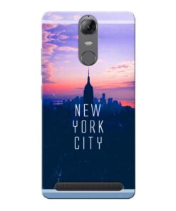 New York City Lenovo Vibe K5 Note Mobile Cover