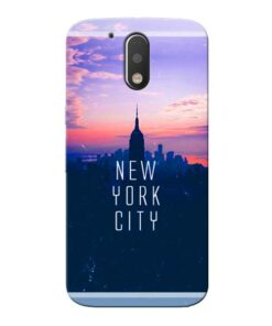 New York City Moto G4 Mobile Cover