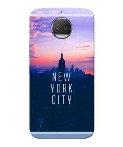 New York City Moto G5s Plus Mobile Cover