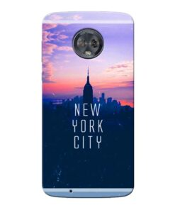 New York City Moto G6 Mobile Cover