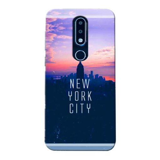 New York City Nokia 6.1 Plus Mobile Cover