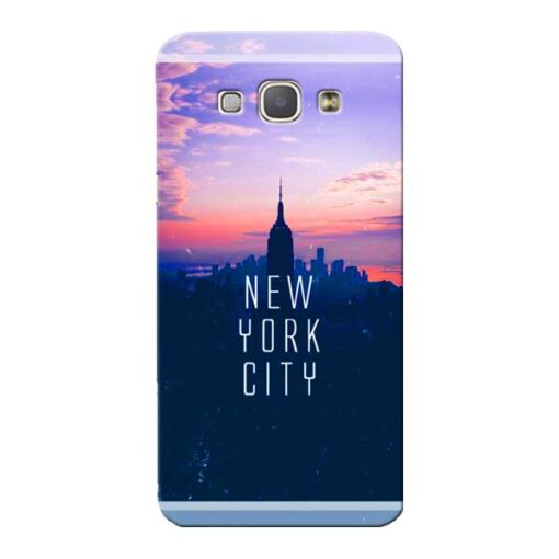 New York City Samsung Galaxy A8 2015 Mobile Cover