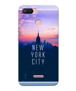 New York City Xiaomi Redmi 6 Mobile Cover
