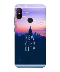 New York City Xiaomi Redmi 6 Pro Mobile Cover