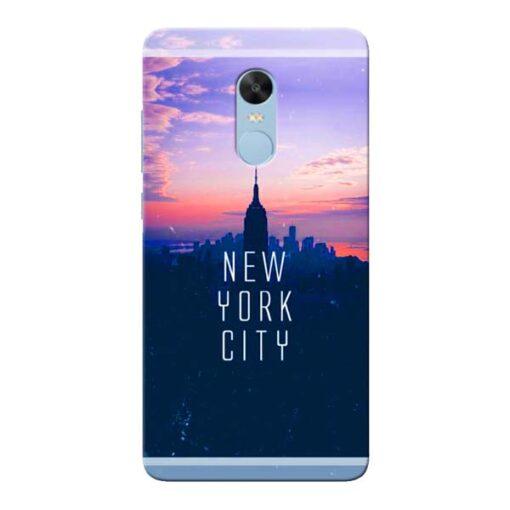New York City Xiaomi Redmi Note 4 Mobile Cover