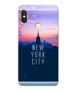 New York City Xiaomi Redmi Note 5 Pro Mobile Cover