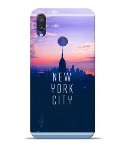 New York City Xiaomi Redmi Note 7 Mobile Cover