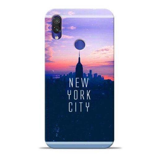 New York City Xiaomi Redmi Note 7 Pro Mobile Cover
