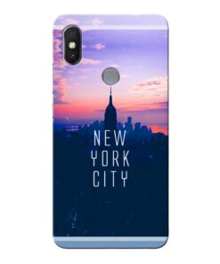 New York City Xiaomi Redmi Y2 Mobile Cover