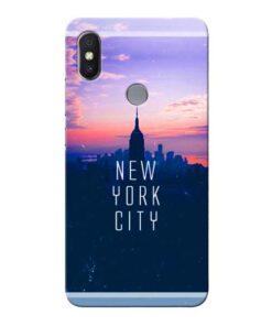 New York City Xiaomi Redmi Y2 Mobile Cover