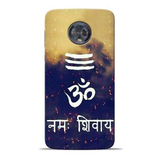 Om Namah Shivaya Moto G6 Mobile Cover