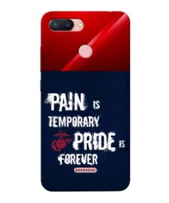 Pain Is Xiaomi Redmi 6 Mobile Cover