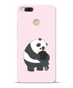 Panda Close Hug Mi A1 Mobile Cover