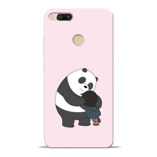 Panda Close Hug Mi A1 Mobile Cover