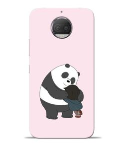 Panda Close Hug Moto G5s Plus Mobile Cover