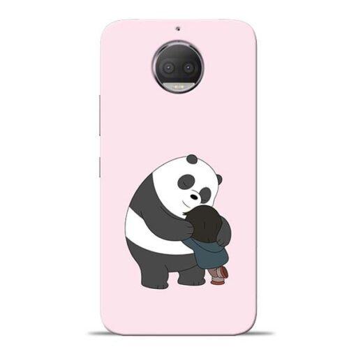 Panda Close Hug Moto G5s Plus Mobile Cover