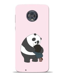 Panda Close Hug Moto G6 Mobile Cover