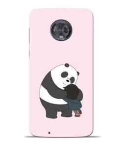 Panda Close Hug Moto G6 Mobile Cover