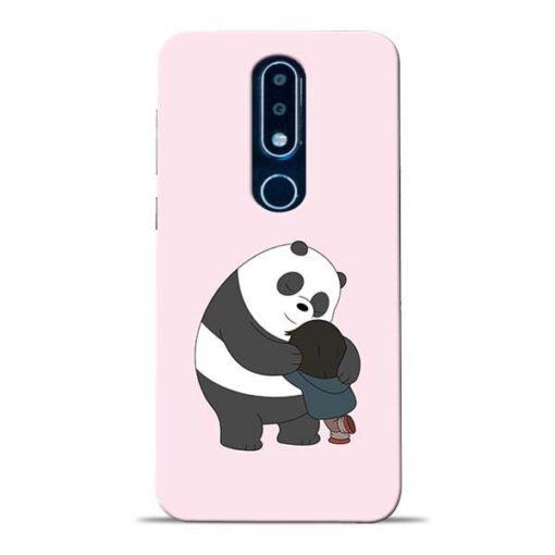 Panda Close Hug Nokia 6.1 Plus Mobile Cover